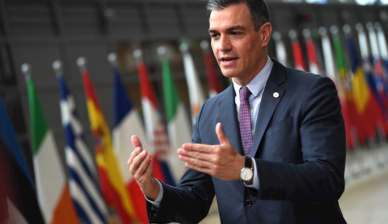 El presidente del Gobierno a su llegada al Consejo Europeo
