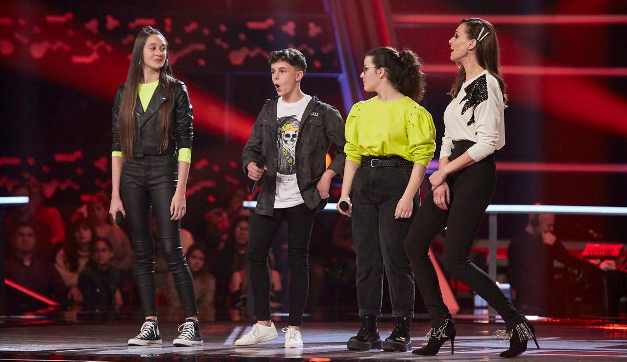Melendi se decide por Alberto Negredo en las Batallas de 'La Voz Kids'