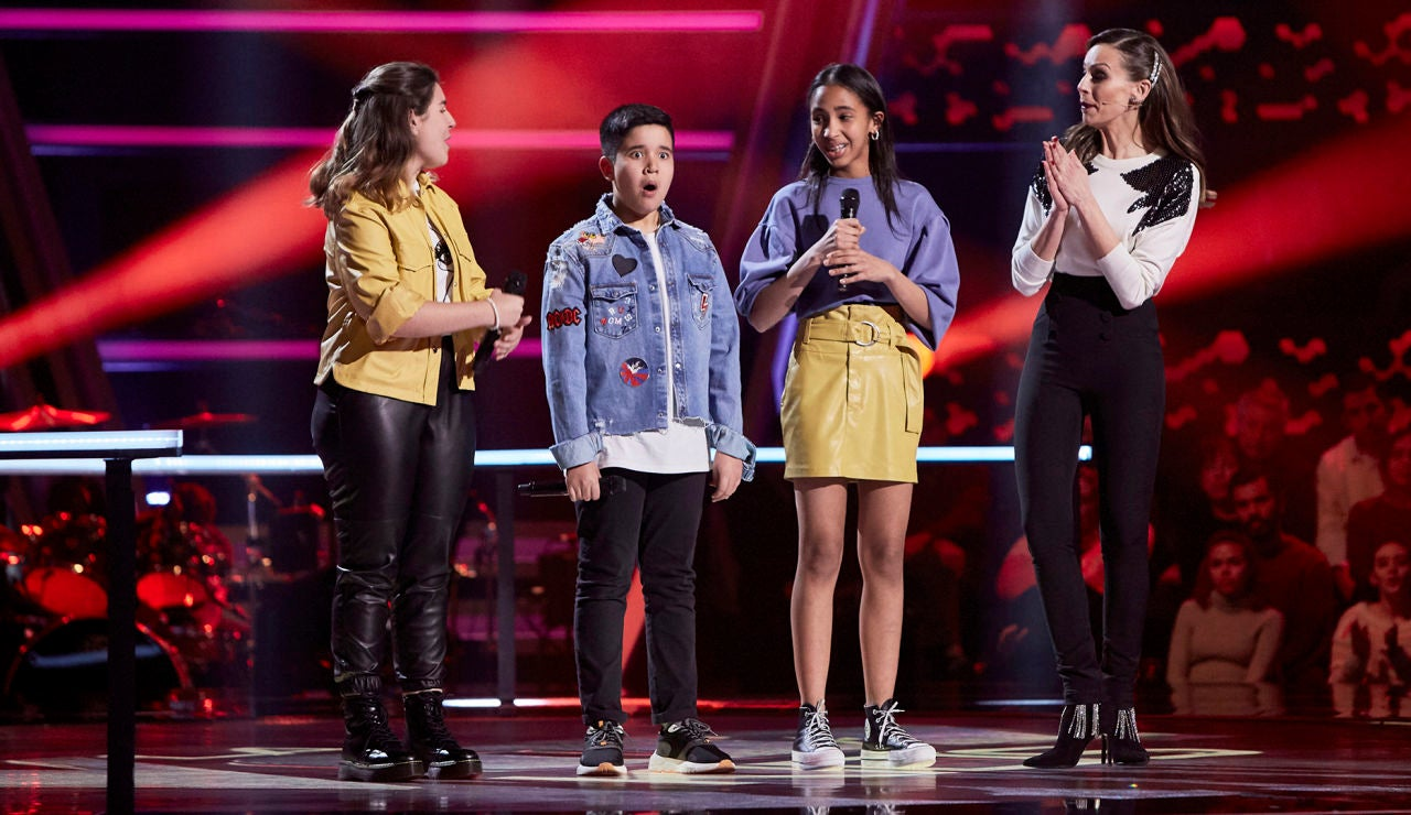 Melendi elige a Levi Díaz en las Batallas de 'La Voz Kids'
