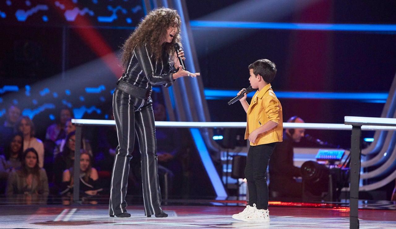 Rosario Flores canta con Carlos Prieto una preciosa versión de 'Gloria a Dios'