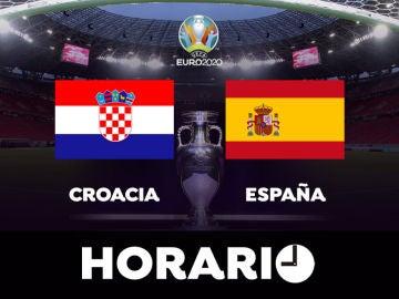Croacia - España: Horario y dónde ver el partido de octavos de la Eurocopa en directo