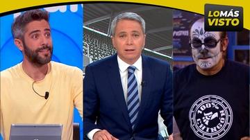 Antena 3 lidera el prime time con lo más visto de la TV y laSexta se coloca como 3ª cadena más vista del jueves
