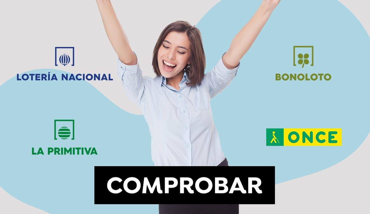Comprobar Primitiva, Lotería Nacional, ONCE y Bonoloto, resultados del jueves 24 de junio