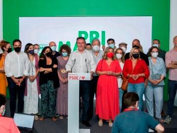 Susana Díaz y Juan Espadas llegan a un acuerdo para llevar a cabo la transición en el PSOE andaluz