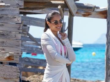 Hiba Abouk en Ibiza