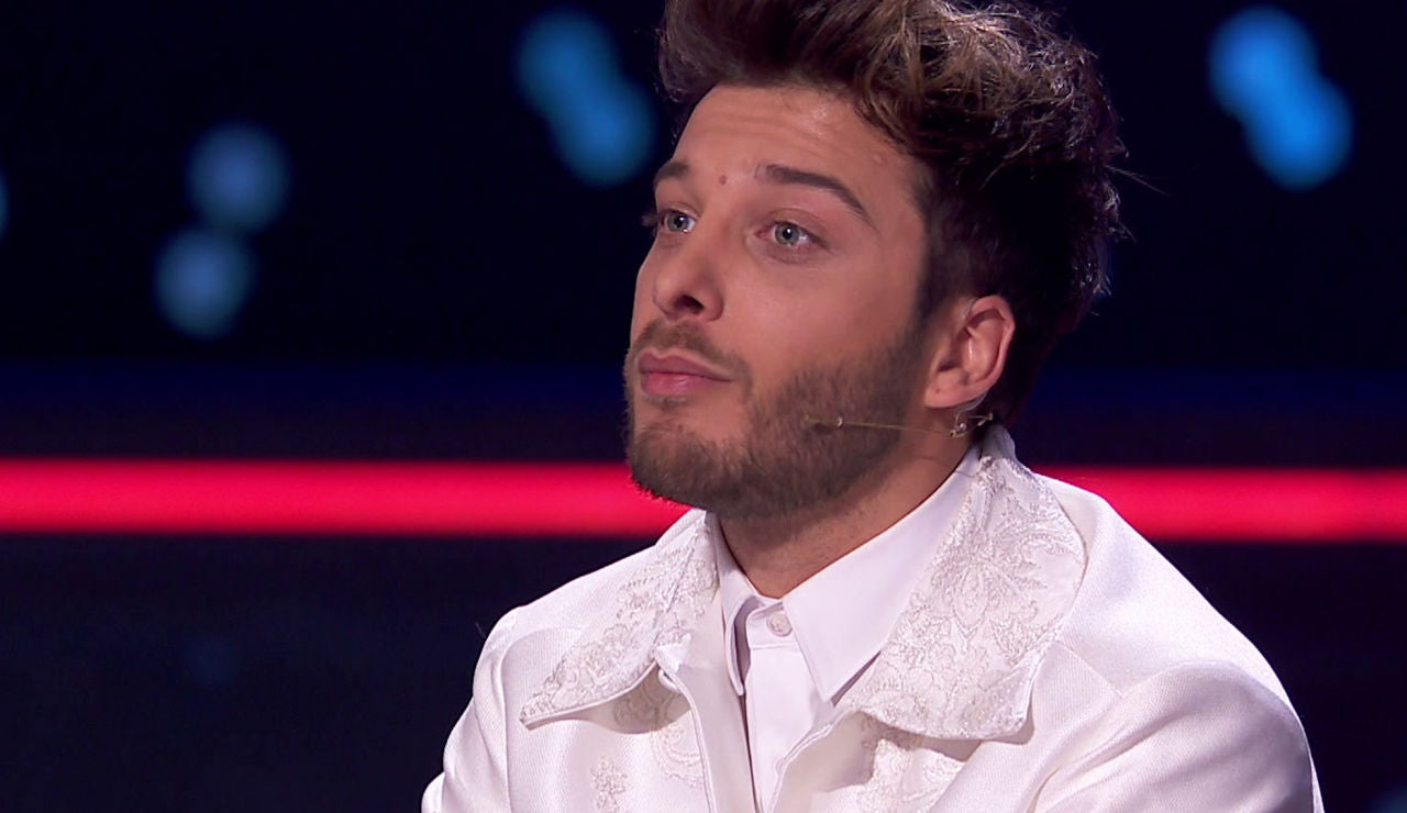 Blas Cantó en las Batallas de 'La Voz Kids'