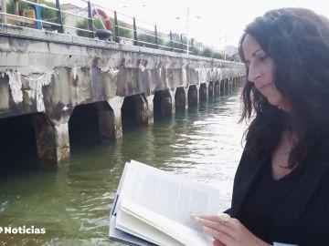 María Oruña presenta 'Lo que la marea esconde', una novela plagada de misterios