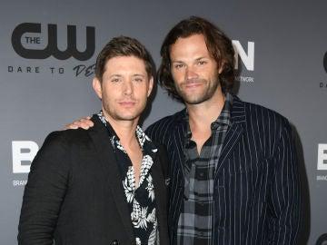 Jared Padalecki y Jensen Ackles, actores de 'Supernatural'