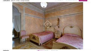 Una de las habitaciones del castillo