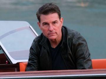 Tom Cruise en el rodaje de 'Misión: Imposible 7'
