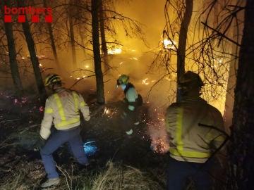 Incendio en Alfarrás
