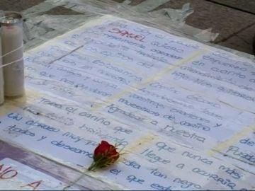 Homenaje a Samuel, el joven asesinado en A Coruña