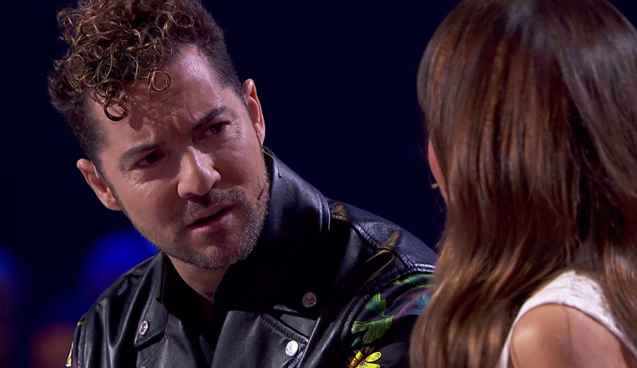 David Bisbal, asombrado con la confesión de Aitana en 'La Voz Kids'