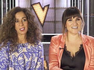 """Rosario y Rozalén, preparadas para el Último Asalto de 'La Voz Kids': """"El punto fuerte del equipo es la verdad"""""""