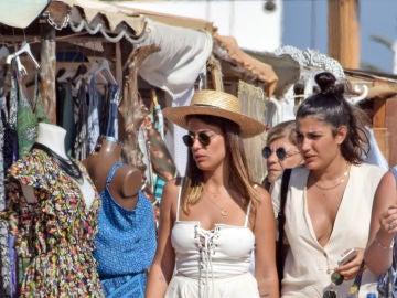 Dulceida y Alba Paul, en Formentera