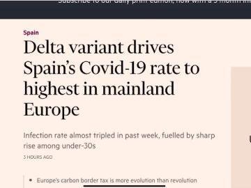Advertencia del Financial Times.