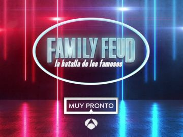 'Family Feud: la batalla de los famosos' llega un pronto a Antena 3