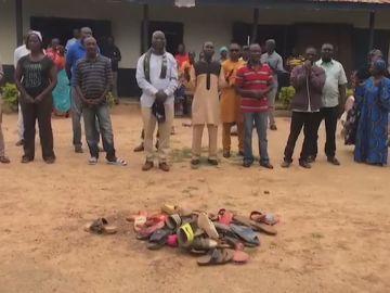 Secuestro 140 estudiantes en Nigeria
