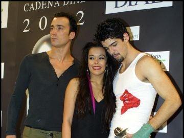 Beatriz Luengo, Pablo Puyol y Miguel Ángel Muñoz