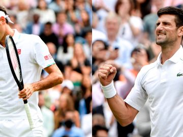 Hubert Hurkacz arrolla a Roger Federer y elimina al suizo en los cuartos de Wimbledon