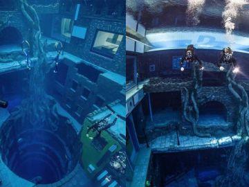 Deep Dive Dubai, la piscina más profunda del mundo con 60 metros de profundidad