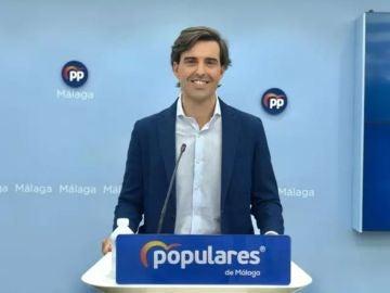 Vicesecretario de Comunicación del PP, Pablo Montesinos