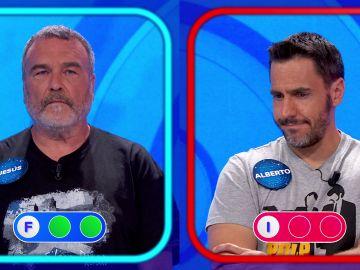 Dos errores en la 'Silla Azul' eliminan a Alberto de 'Pasapalabra'