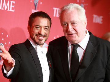 Robert Downey Jr. con su padre Robert Downey Sr.