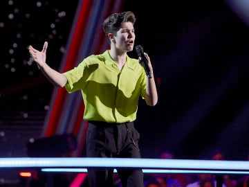 Javier Crespo canta 'All I want' en el Último Asalto de 'La Voz Kids'
