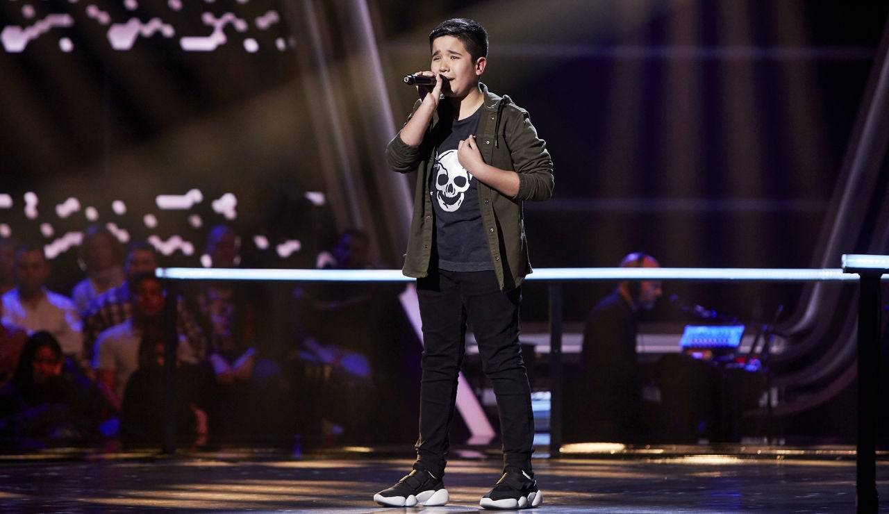 Levi Díaz canta 'Warrior' en el Último Asalto de 'La Voz Kids'