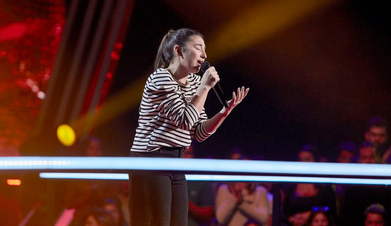 Lola Avilés canta 'Mi amante amigo' en el Último Asalto de 'La Voz Kids'