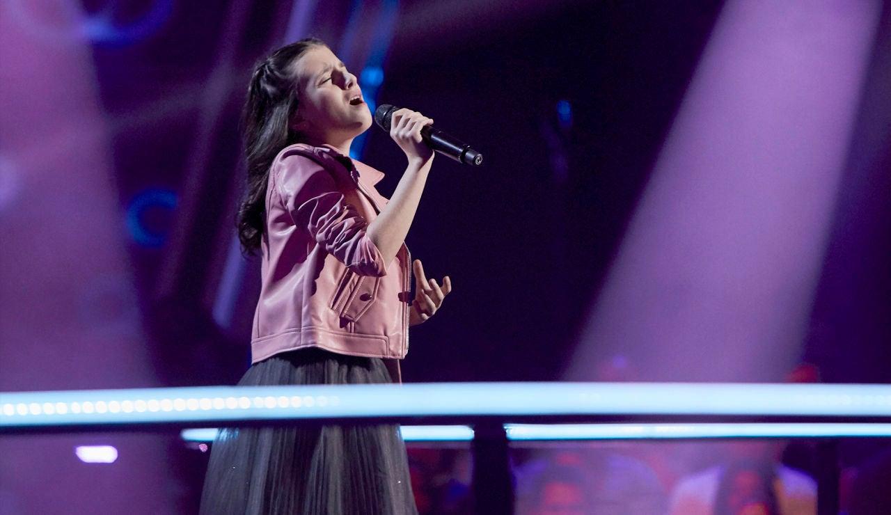 Marta Fernández canta 'When I was your man' en el Último Asalto de 'La Voz Kids'