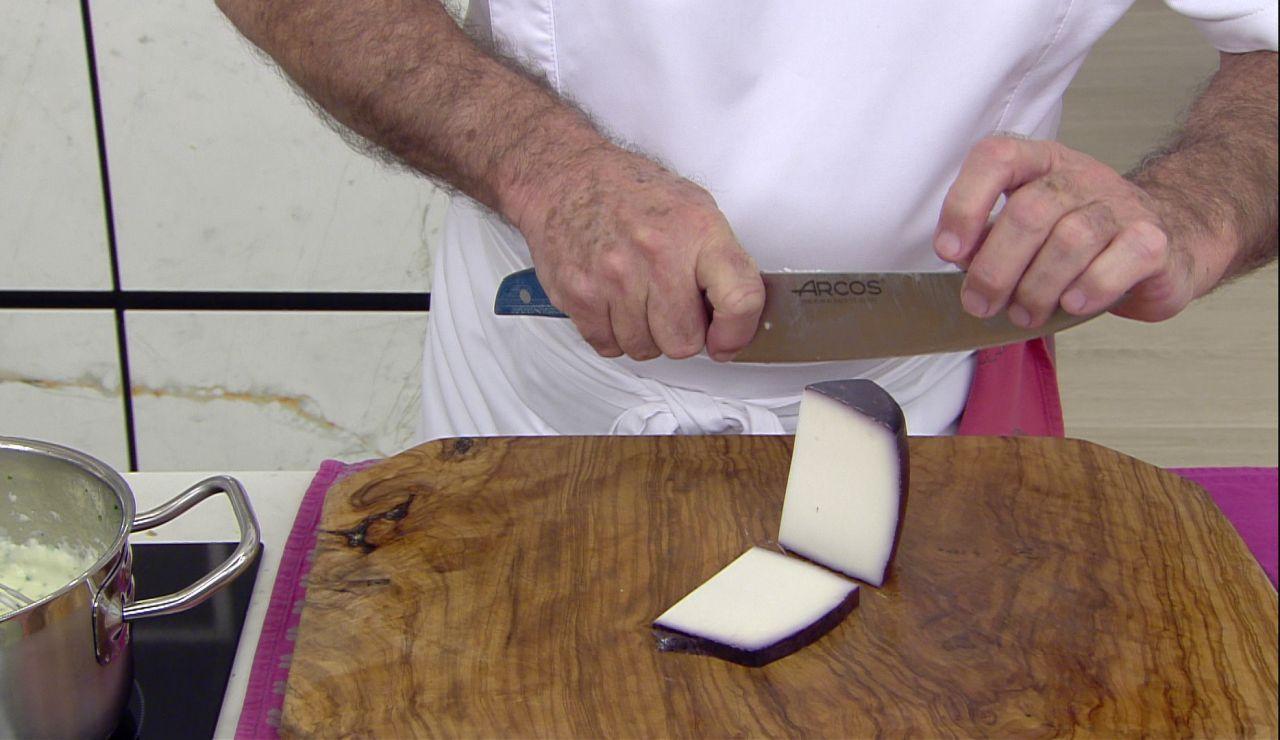 El queso de cabra con aroma a vino que necesitas