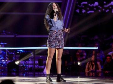 Carla Quesada canta 'Love on the brain' en el Último Asalto de 'La Voz Kids'