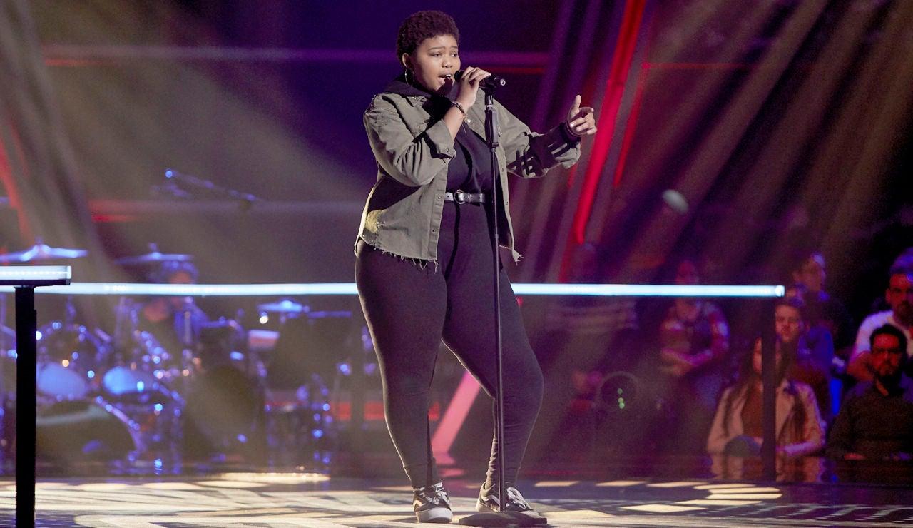 Inés Thandi canta 'Say my name' en el Último Asalto de 'La Voz Kids'