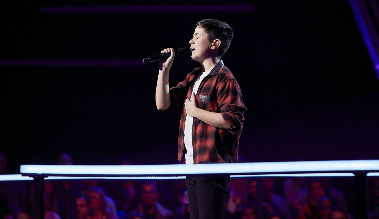 Lukas Urdea canta 'Mi princesa' en el Último Asalto de 'La Voz Kids'