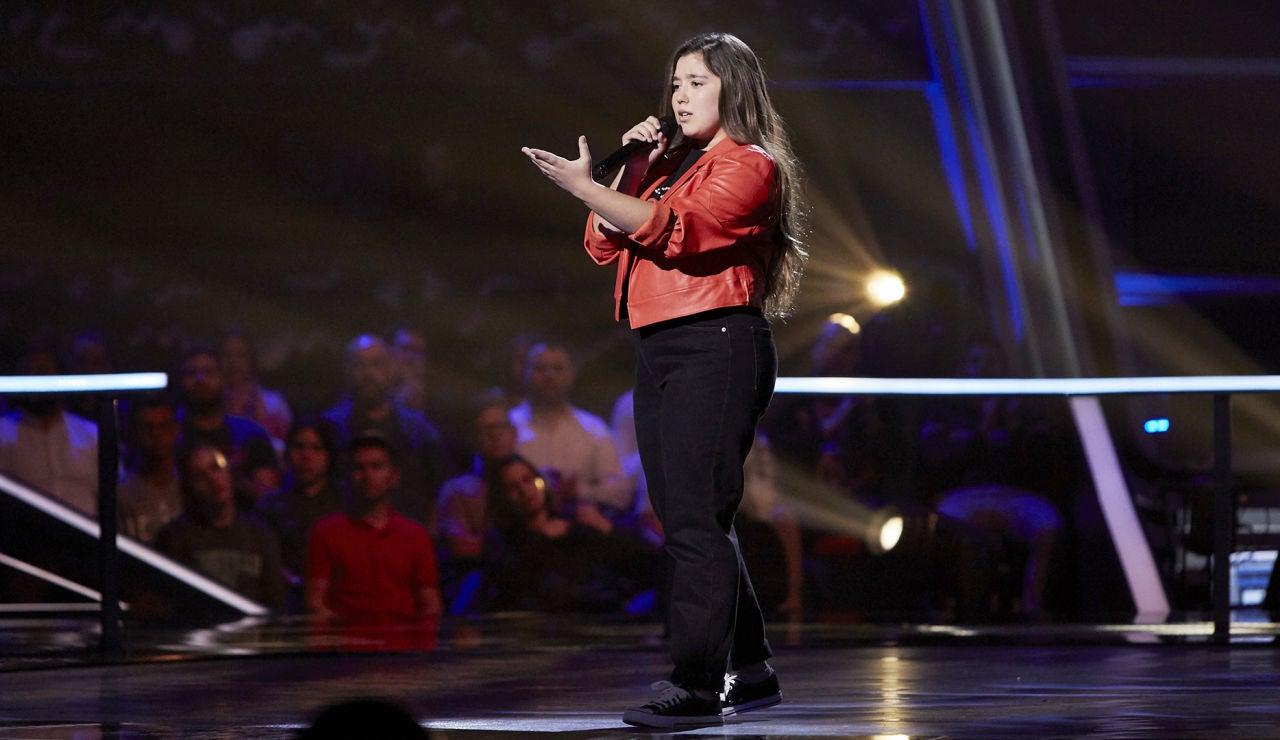 Rocío Avilés canta 'No te pude retener' en el Último Asalto de 'La Voz Kids'