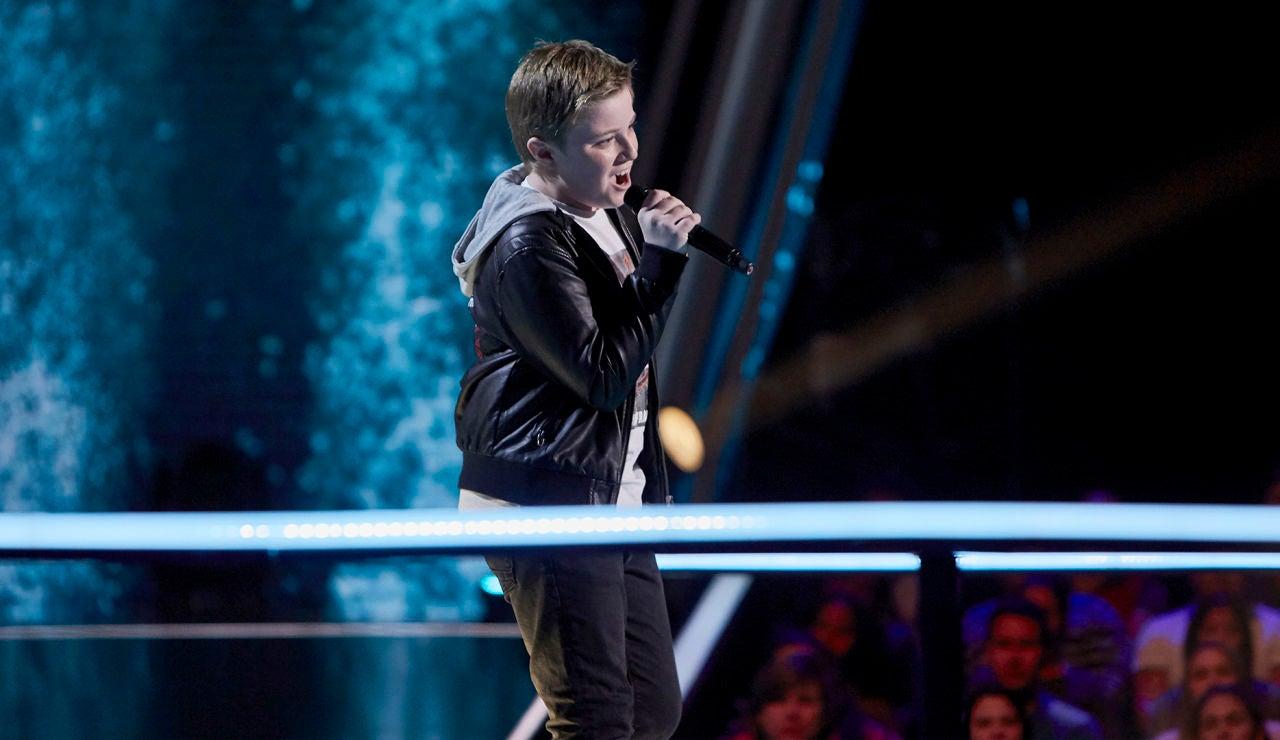 Ferrán Amador canta 'Creep' en el Último Asalto de 'La Voz Kids'