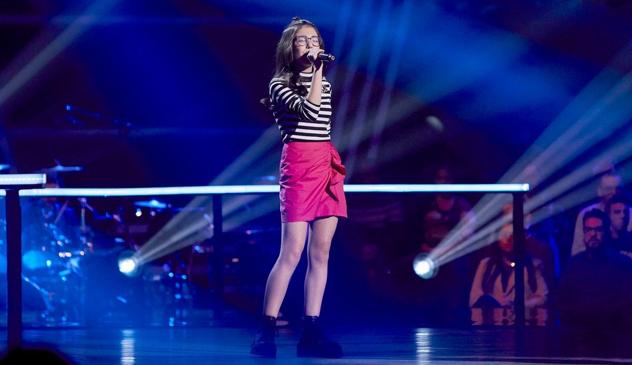 Nora Fayos canta 'Idontwannabeyouanymore' en el Último Asalto de 'La Voz Kids'