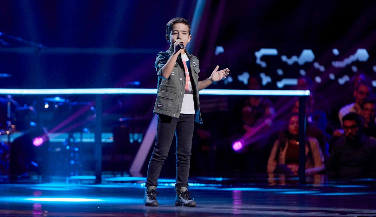 Carlos Prieto canta 'Estoy tan enamorado' en el Último Asalto de 'La Voz Kids'