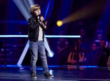 Jesús Montero canta 'Me cuesta tanto olvidarte' en el Último Asalto de 'La Voz Kids'