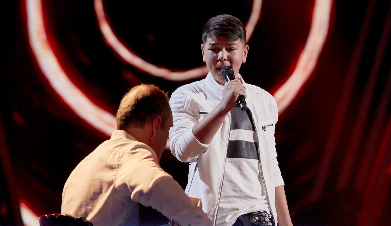 El Popo canta 'Dicen que príncipe y reyes tiene' en el Último Asalto de 'La Voz Kids'