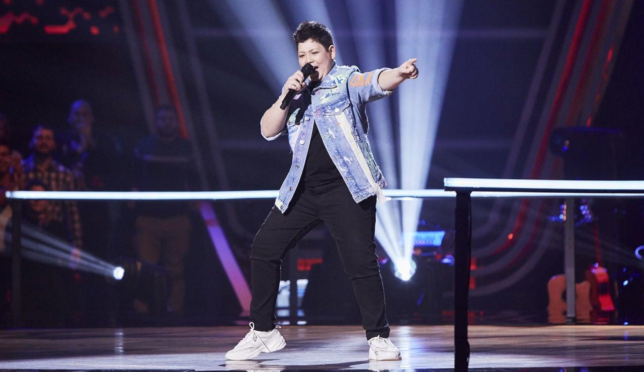 Xoel Tarín canta 'I feel good' en el Último Asalto de 'La Voz Kids'