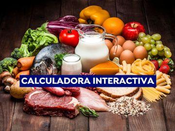 Calcula el impacto en el medioambiente de la carne y el resto de alimentos que consumes