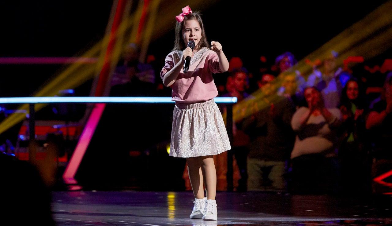 Nazaret Moreno canta 'Señora' en el Último Asalto de 'La Voz Kids'