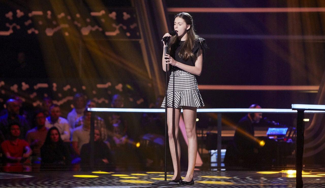Carmen Puente canta 'Love is a losing game' en el Último Asalto de 'La Voz Kids'