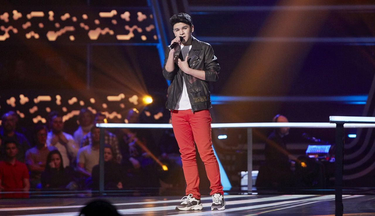 Manuel Ayra canta 'Si a veces hablo de ti' en el Último Asalto de 'La Voz Kids'
