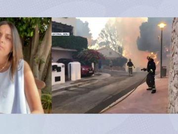 Incendio provocado por un menor.