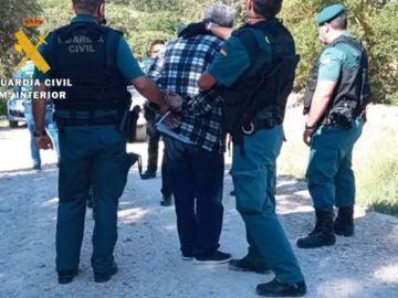 La Guardia Civil detiene a la pareja de la mujer desaparecida.