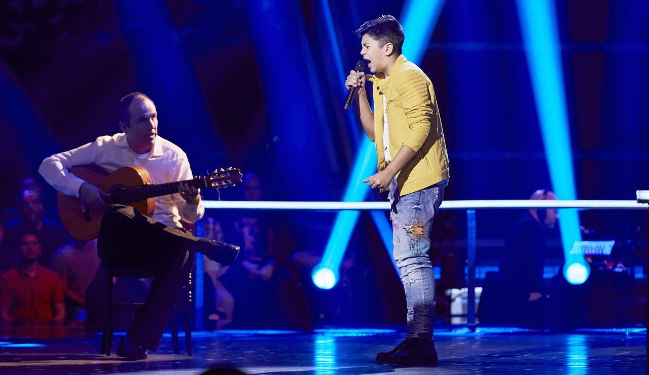 Dayron Jiménez canta 'Reza por mí todos los días' en el Último Asalto de 'La Voz Kids'